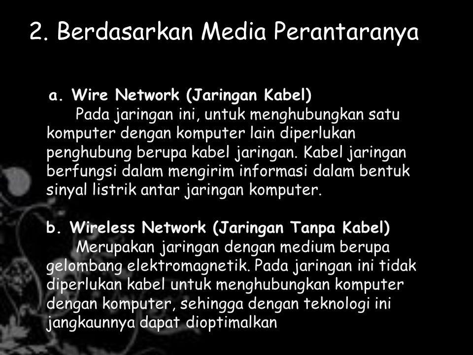 Contoh konfigurasi Internet sebagai berikut: