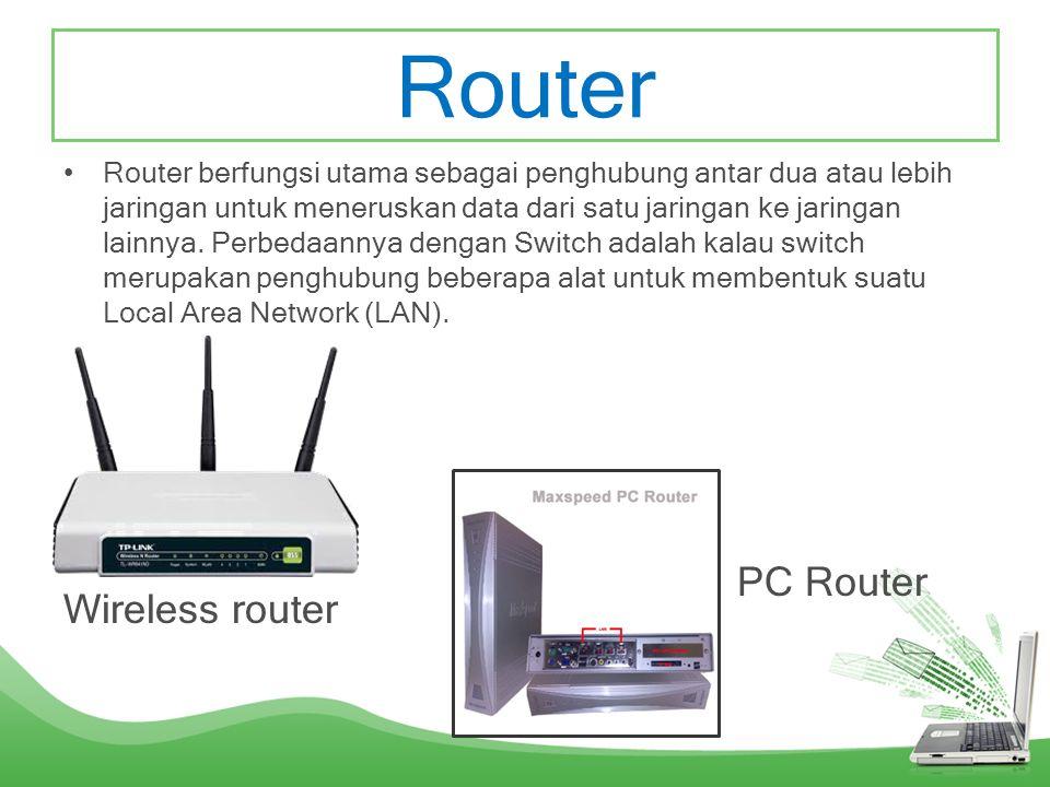 USB WLAN •Alat yang berfungsi untuk menerima sinyal internet