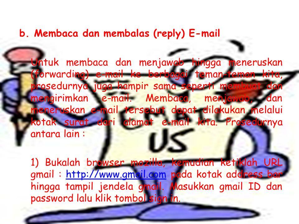 5) Ketiklah isi surat atau pesan pada kotak yang tersedia.