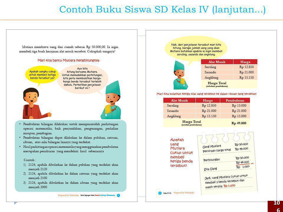 106106 Contoh Buku Siswa SD Kelas IV (lanjutan...)