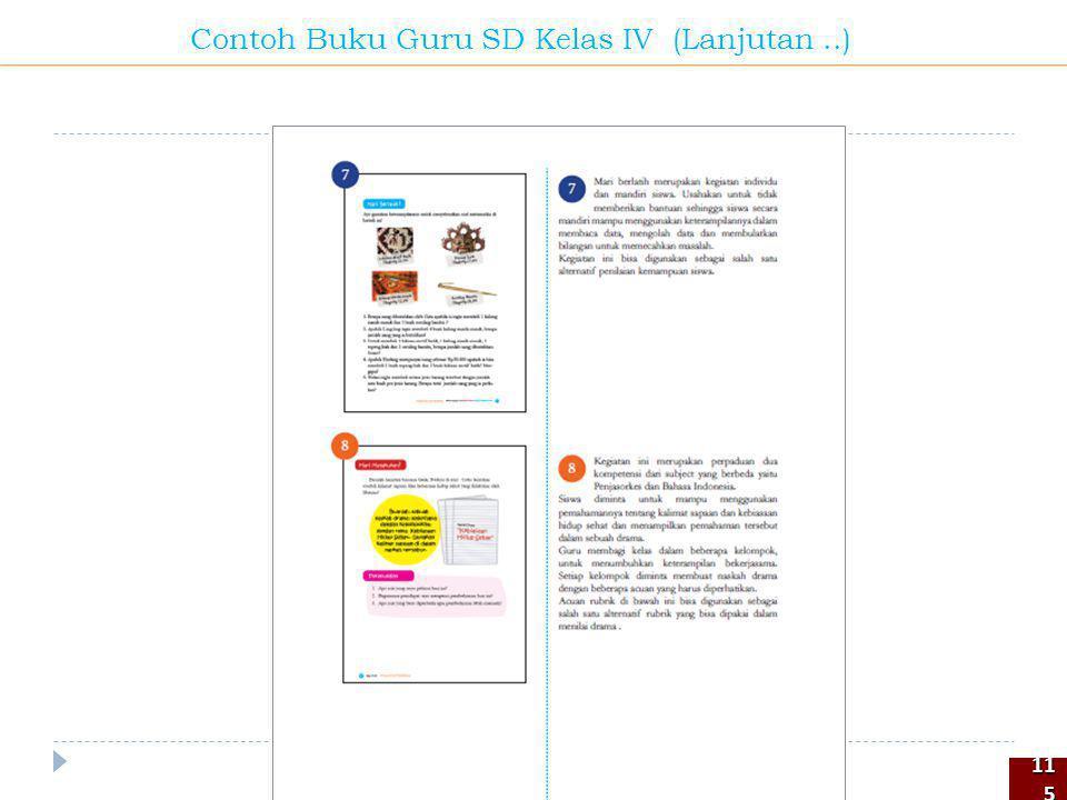 115115 Contoh Buku Guru SD Kelas IV (Lanjutan..)