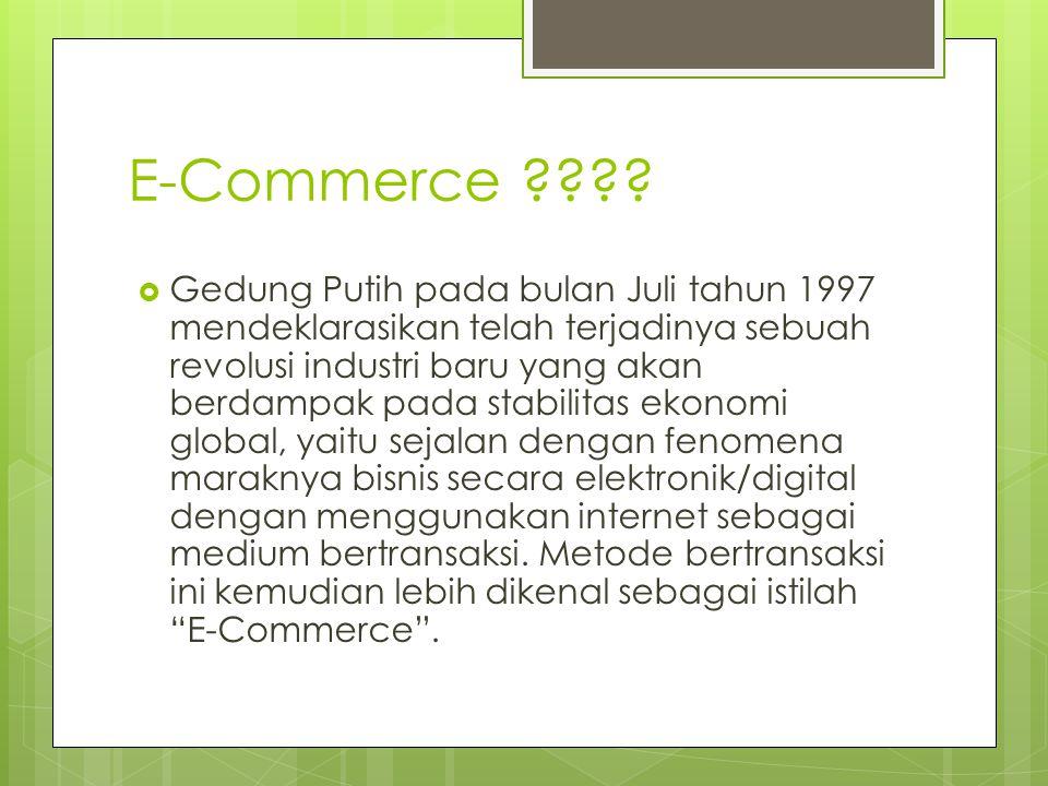 E-Commerce ???.
