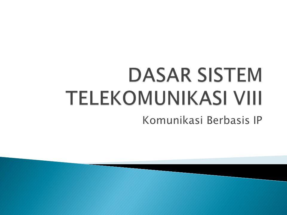 Komunikasi Berbasis IP