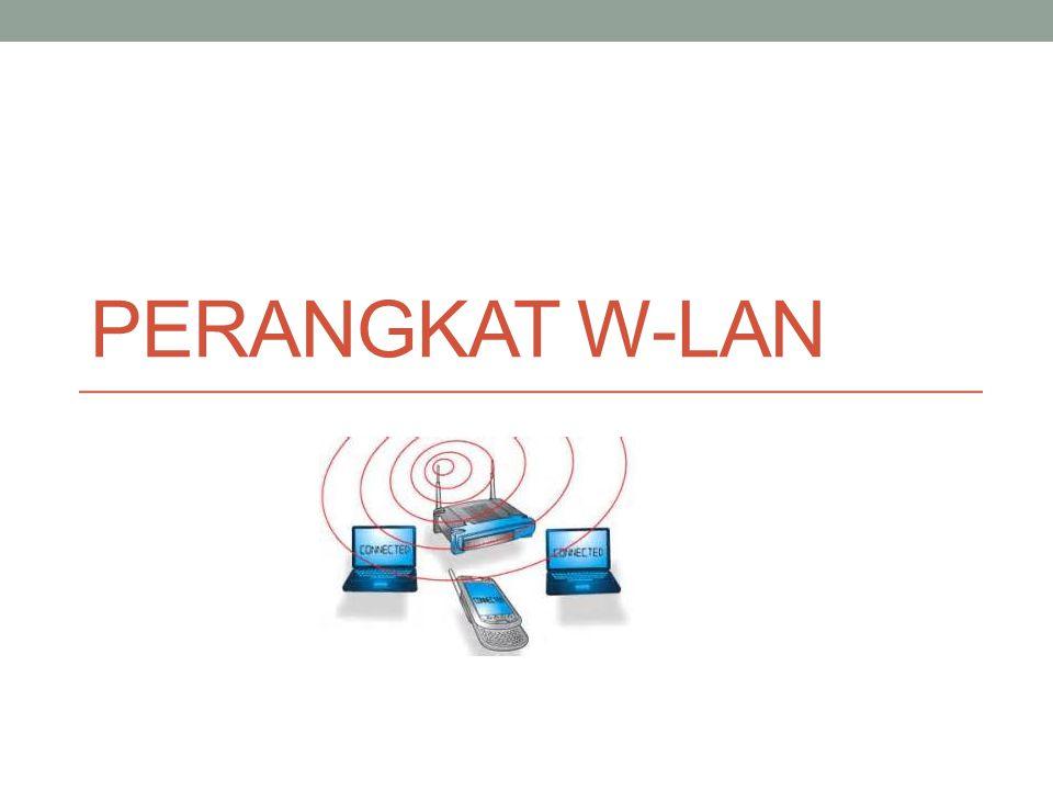 Outline • Pendahuluan • Topologi wireless LAN • Mode Operasi Access Point • Perangkat wireless LAN