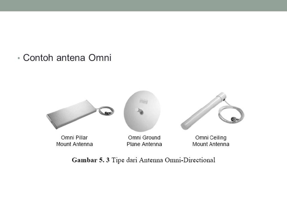• Contoh antena Omni