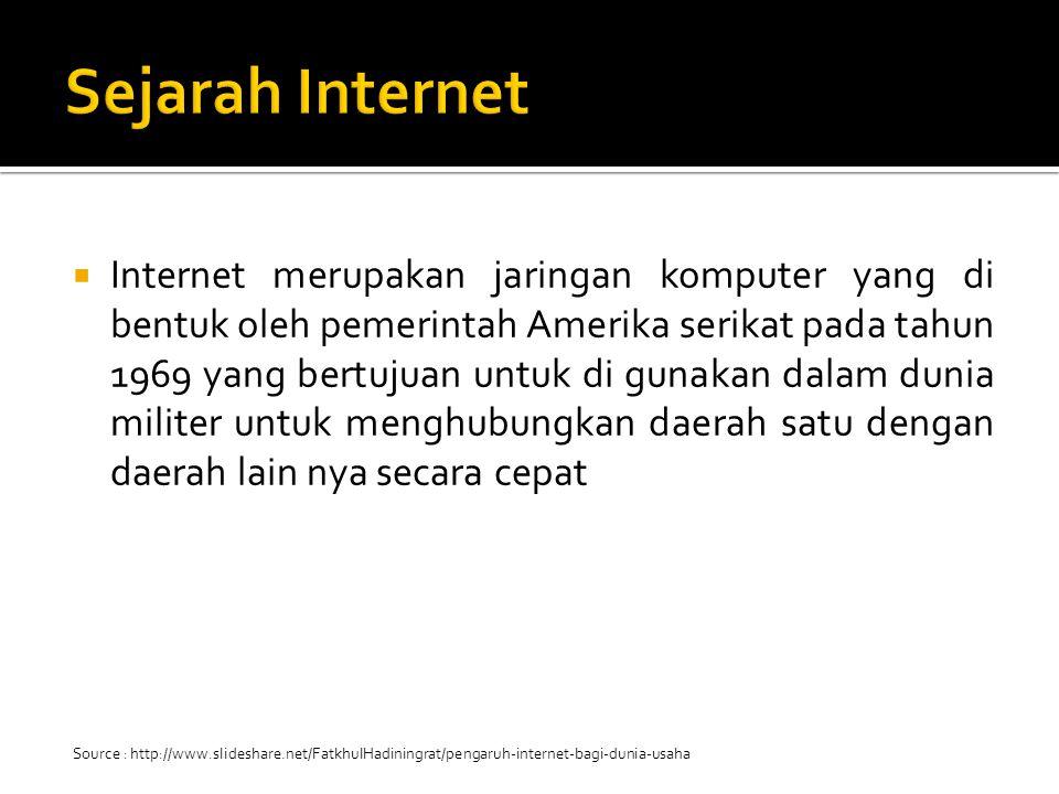 selain pada perusahaan ternyata internet membuka pekerjaan baru juga untuk orang orang yang berada di luar perusahaan.