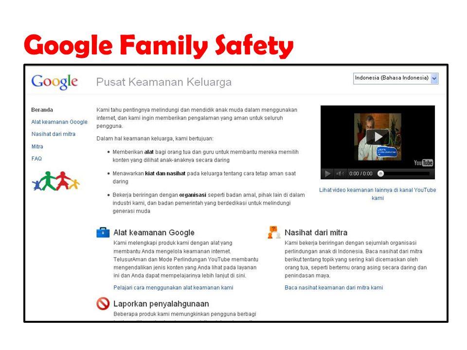 Google Family Safety