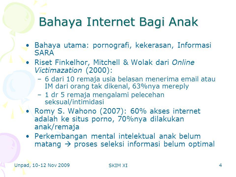Unpad, 10-12 Nov 2009 SKIM XI Contoh Software Browser Anak 15