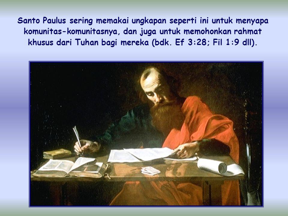 """""""Kiranya Tuhan menjadikan kamu bertambah- tambah dan berkelimpahan dalam kasih seorang terhadap yang lain dan terhadap semua orang"""" (1Tes 3:12)"""