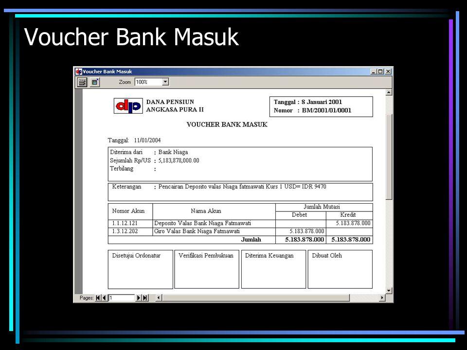 Voucher Bank Masuk