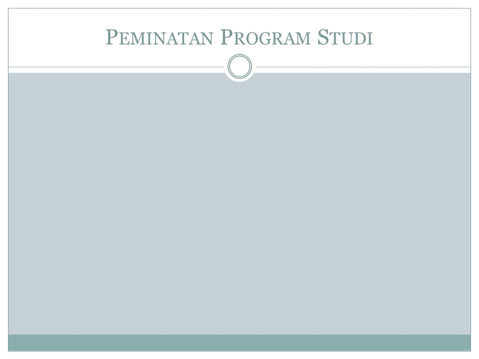 PEMINATAN YANG DISELENGGARAKAN PRODI MI  Pada semester ganjil TA 2011/2012, Prodi MI menyelenggarakan 2 (dua) peminatan:  Multimedia and Creative Content  Database Development  Pada semester genap TA 2011/2012, akan diselenggarakan 3 (tiga) peminatan  untuk angkatan 2010 dan seterusnya