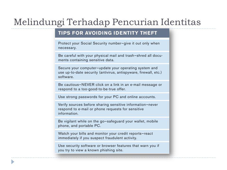 Melindungi Terhadap Pencurian Identitas
