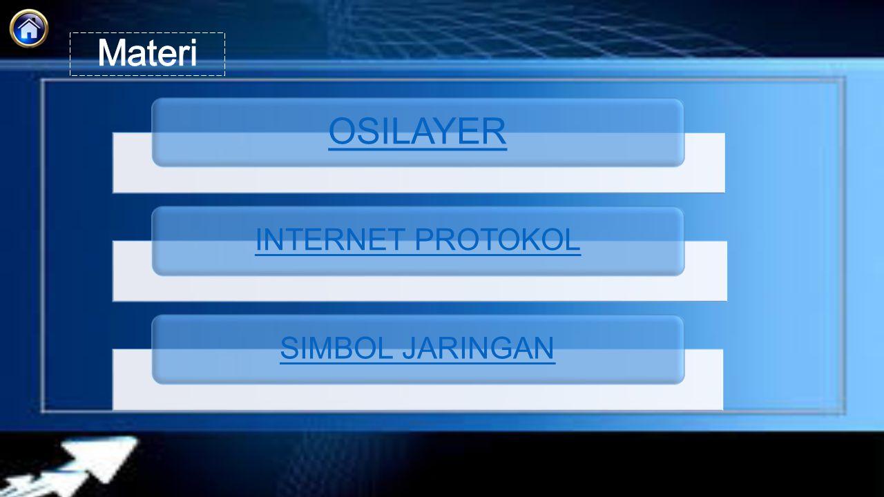 OSILAYER INTERNET PROTOKOL SIMBOL JARINGAN