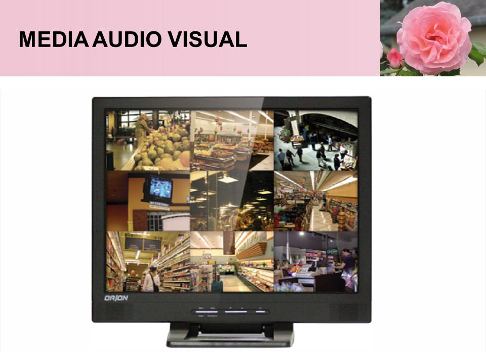 MEDIA AUDIO VISUAL