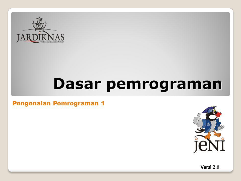 Deklarasi dan Inisialisasi Variabel: Panduan penulisan program 1.
