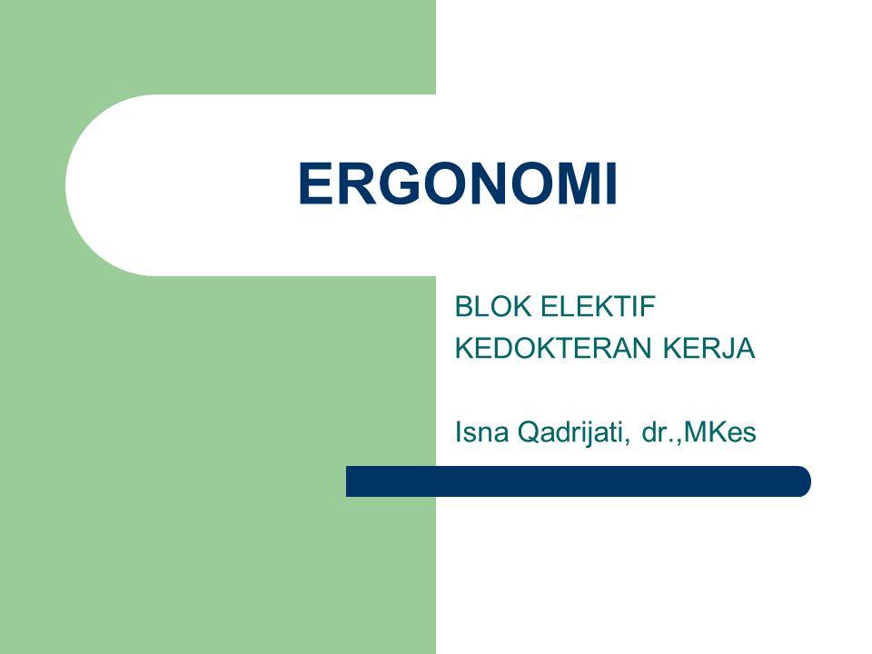 Pengertian  ERGONOMI=  HUMAN ENGINEERING  HUMAN FACTORS ENGINEERING  ENGINEERING PSYCHOLOGY  HARI LAHIR ERGONOMI:12 JULI 1949