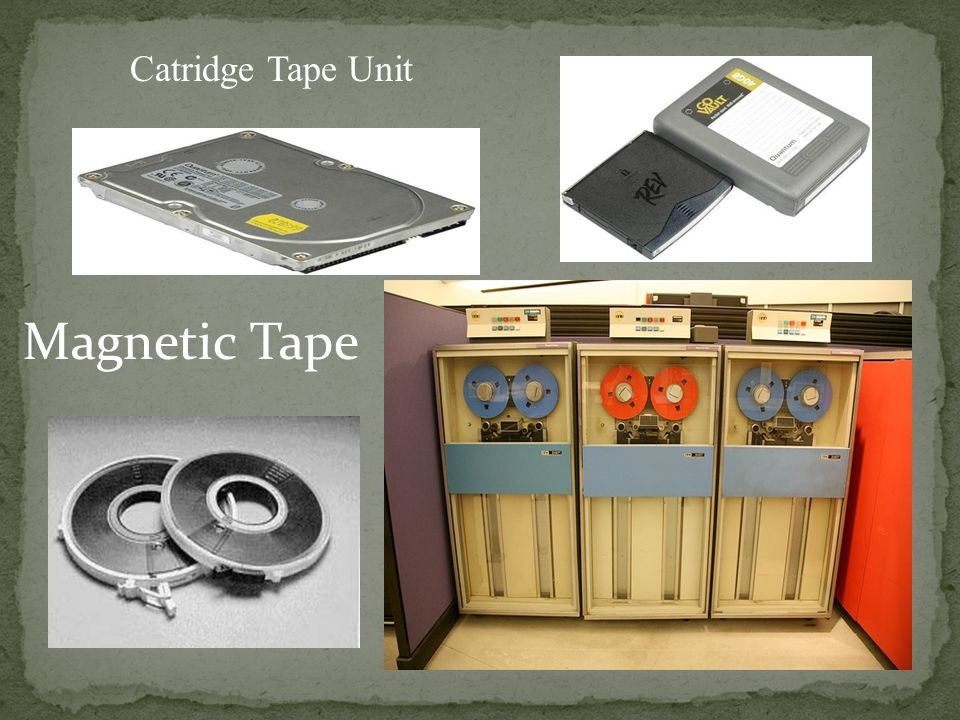 Magnetic Tape Catridge Tape Unit