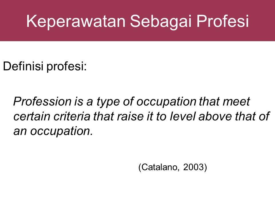 Citra Perawat Indonesia di Luar Negeri Berdasarkan hasil diskusi dengan delegasi dari Jepang tahun 2008: Lebih Care dibanding dengan perawat asing lain.