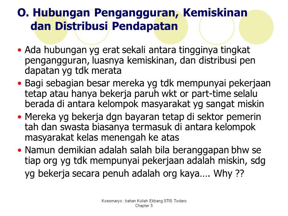 Koesmaryo : bahan Kuliah Ekbang STIS Todaro Chapter 5 O.