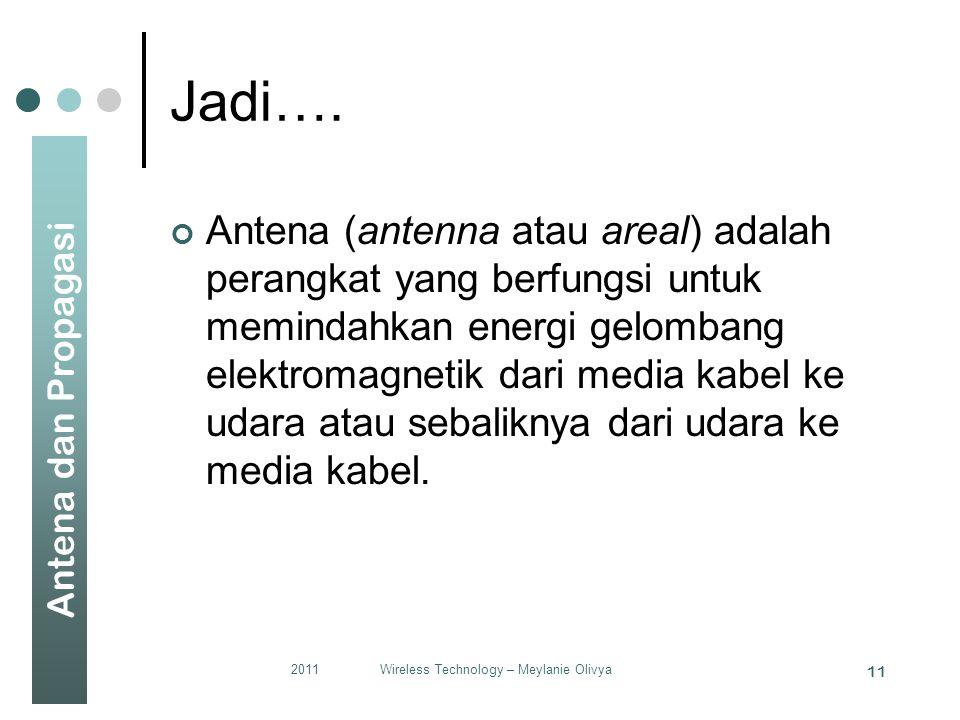 Antena dan Propagasi Jadi….
