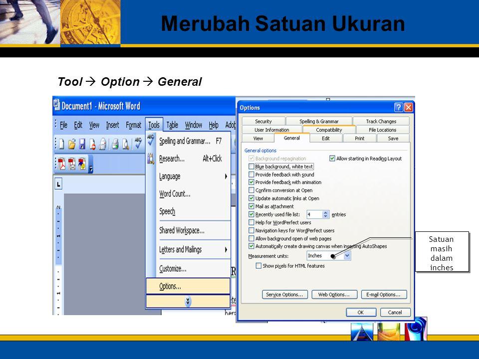 Bekerja Dengan Page Orientations Berbeda dalam Satu File Orientations : Potrait