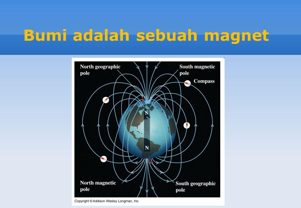 Bumi adalah sebuah magnet