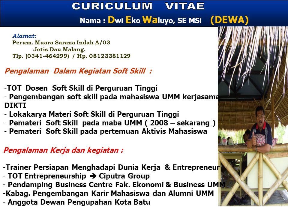 Alamat: Perum.Muara Sarana Indah A/03 Jetis Dau Malang.