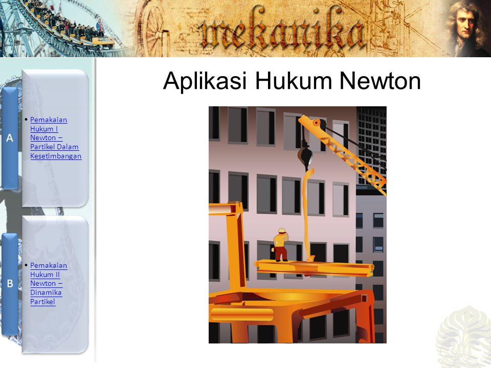 Aplikasi Hukum Newton