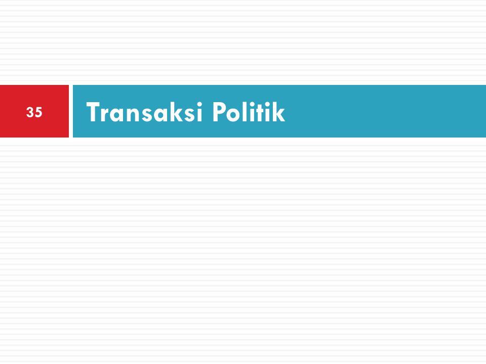 Transaksi Politik 35