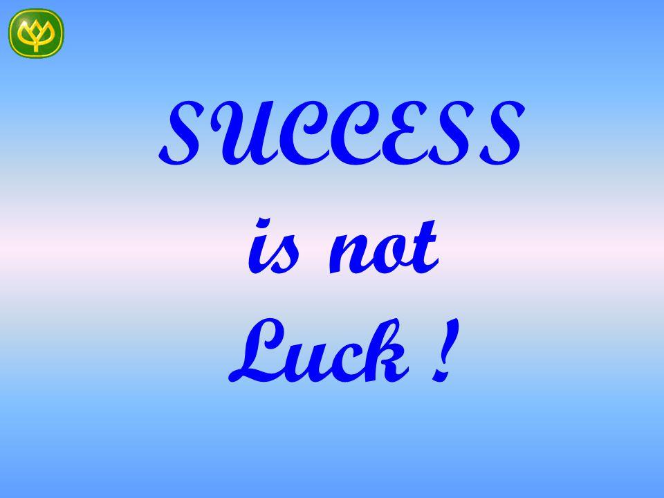 Sukses adalah akibat dari SEBAB-SEBAB Yang Kita Buat