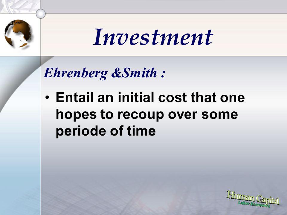 18 Investment : Present Value •Keputusan Investasi : Gain antara Current Cost dan Future Returns •Fakta : terdapat perbedaan nilai antara saat ini dengan yang akan datang