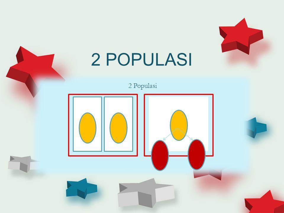 2 POPULASI 2 Populasi