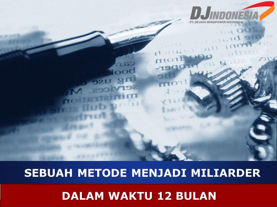 Selamat Datang Di acara Presentasi Bisnis Presented By FERRY YULIANTO HP: 087878369474 Web Support : www.dj-indonesia.com