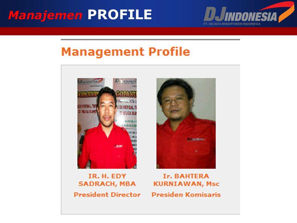 Manajemen PROFILE