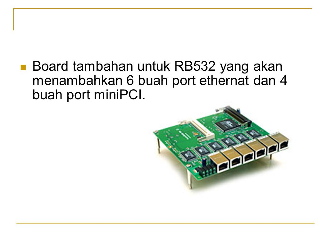  PCI to MiniPCI Adapter Mini pci converter ini ada dari 1 splot mini pci dan sampai 4 mini pci