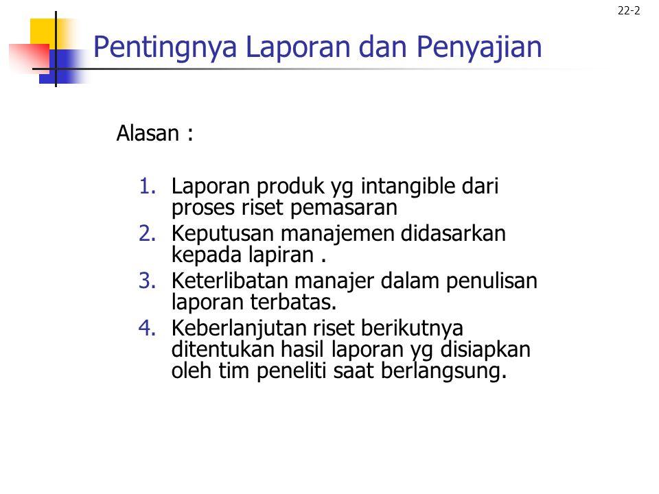 22-3 Proses Penulisan Laporan Fig.