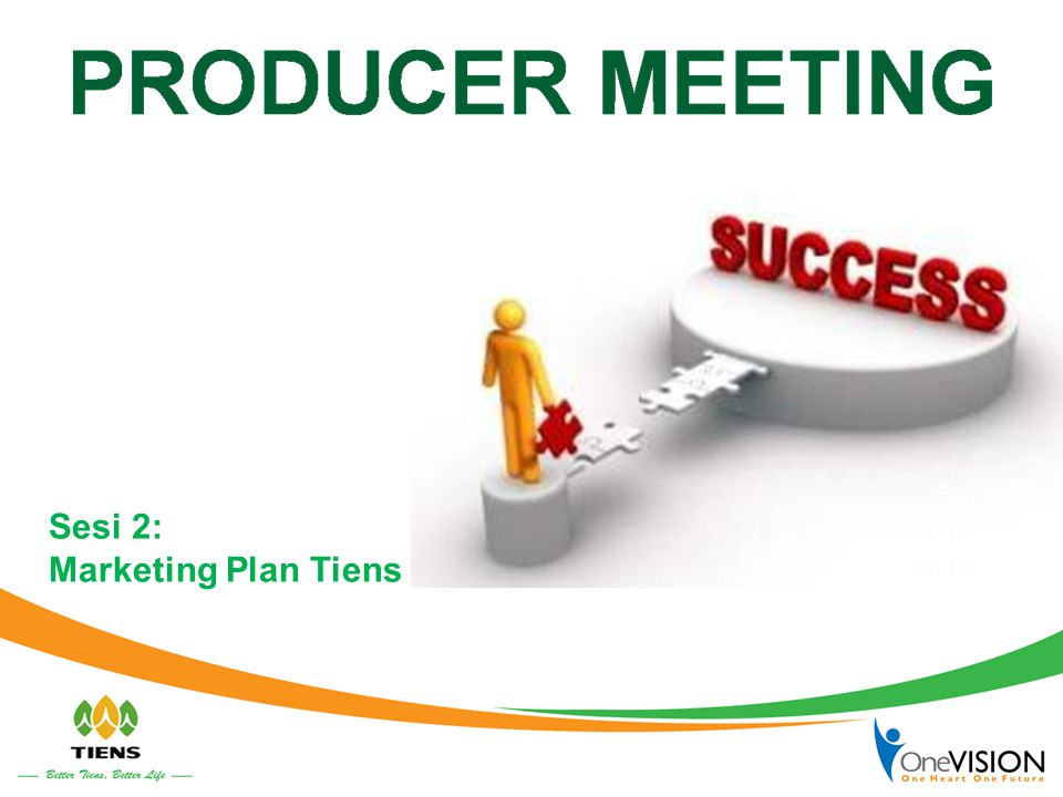 Sesi 2: Marketing Plan Tiens