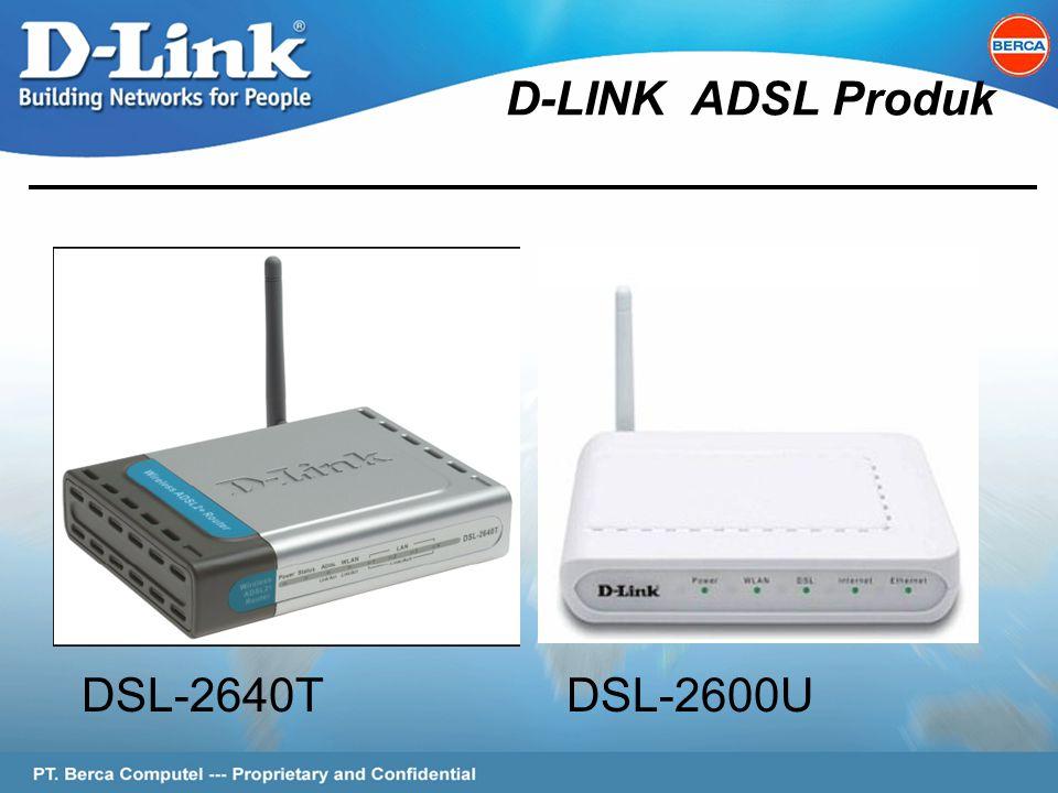 Page 2 of 62 D-LINK ADSL Produk DSL-2640TDSL-2600U