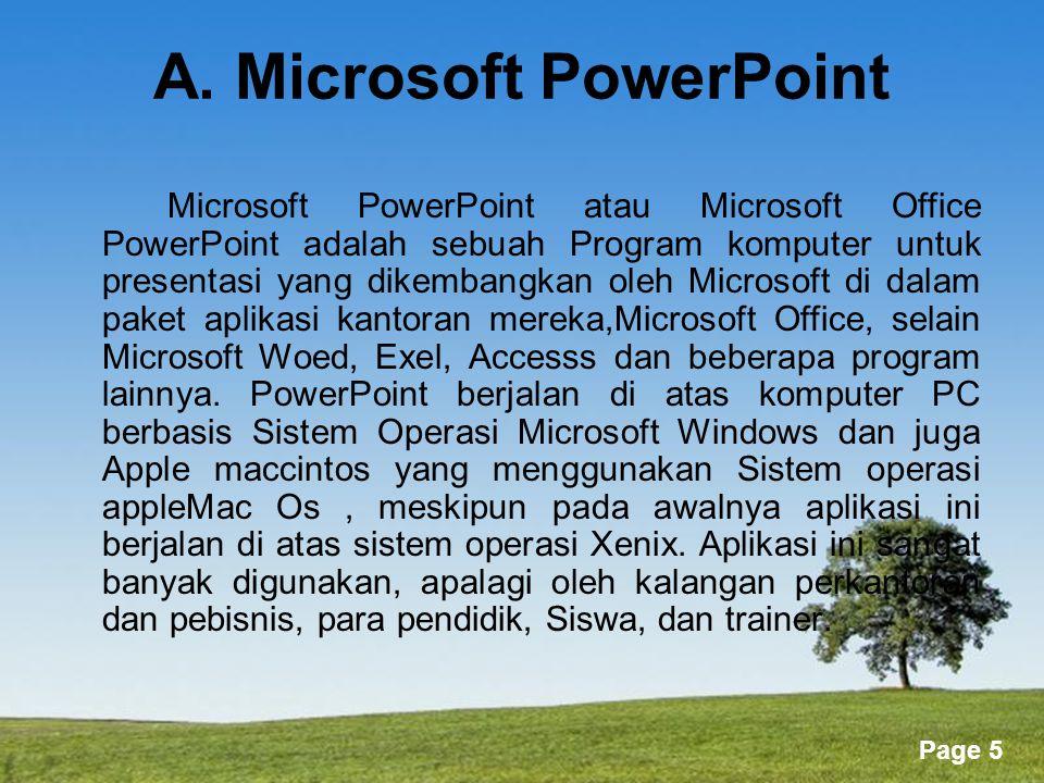 Powerpoint Templates Page 66 o Nudge - Gunakan sentuhan untuk memindahkan object sedikit.
