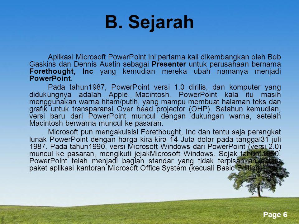 Powerpoint Templates Page 87 1.Pilih Slide Show|Slide Transition dari menu bar.