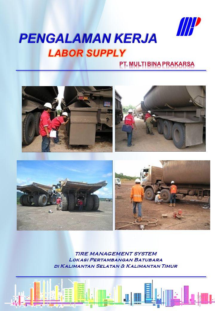TIRE MANAGEMENT SYSTEM Truk Tangki BBM Pertamina Depot Pengapon (Semarang), Depot Rewulu ( DIY), Depot Turen ( Boyolali), Depot Cepu, Depot Tegal, Dep