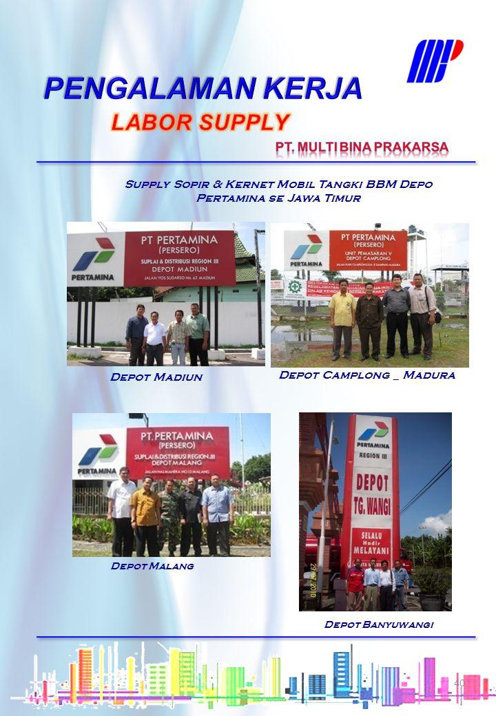 Kantor Cabang Serang Kantor Cabang Jkt-2 Kayuputih Supply Penjaga Malam & Office Boy Kantor Cabang Yakult seluruh Indonesia Kantor Cabang Jkt-3, Kemba