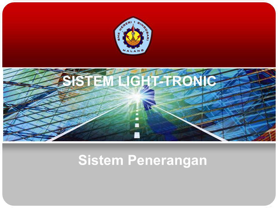 Teknologi dan Rekayasa (1/3) Sistem Penerangan Light failure sensor