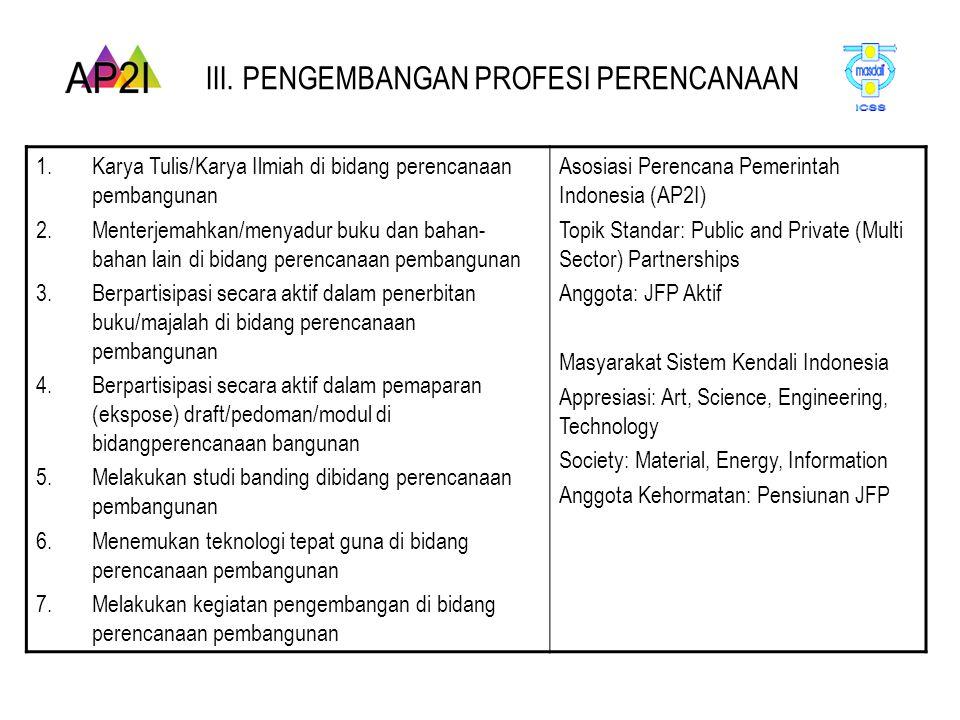 TOPIK 5: PENGENDALIAN PELAKSANAAN (Local Control) Local Planner Sectoral Planner National Planner Internatio nal Planner a.
