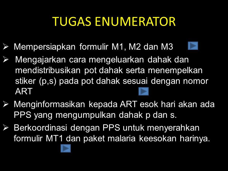 KOORDINASI DENGAN PPS •Melakukan koordinasi dengan PPS untuk menyerahkan formulir MT1 dan menitipkan paket malaria yang akan diserahkan ke PRM.