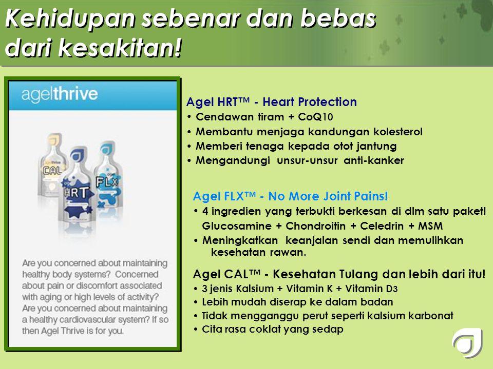 Untuk kecergasan fisik dan mental!! Agel OHM™ - Tenaga & Fokus • Mengandungi vitamin, mineral dan herba (Vitamin B Complex & Korean Panax Ginseng) • M