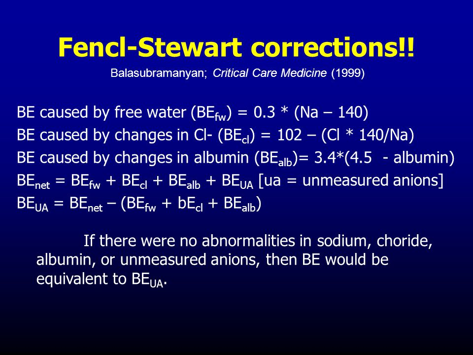 Fencl-Stewart corrections!.
