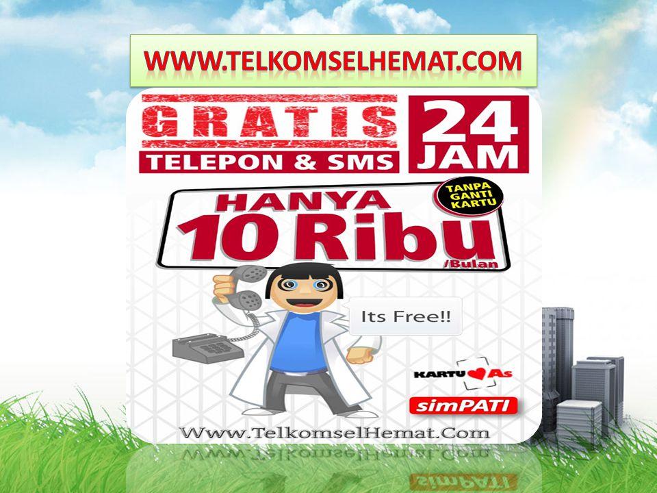 www.telkomselhemat.com www.telkomselhemat.com Visi Pilihan Bisnis Global Indonesia yang terdepan, Besar, Transparan, Kuat, Profesional, Innovatif dan yang dapat Mensejahterakan Hidup kepada semua yang terlibat didalamnya khususnya, dan masyarakat Indonesia pada umumnya.