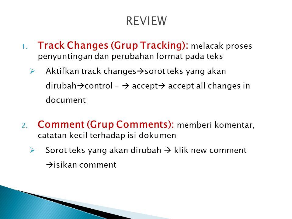  Print layout  Navigasi Dokumen ◦ Ruller ◦ Thumbnail ◦ Document Map