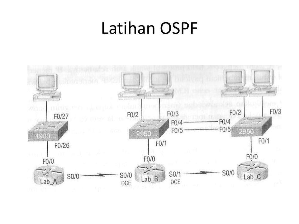 Latihan OSPF